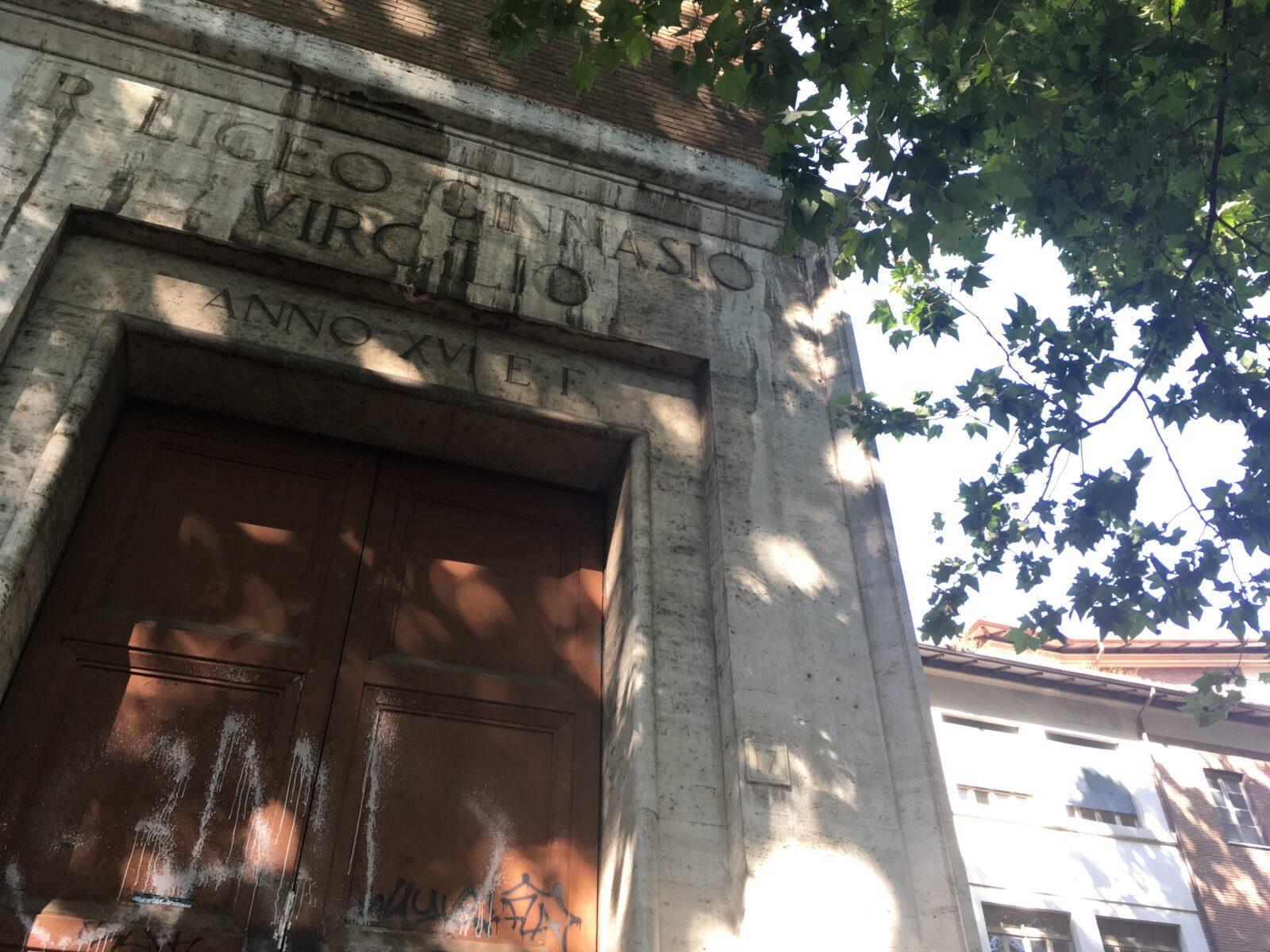 SCUOLA VIRGILIO, ROMA CRESCE STUDIANDO
