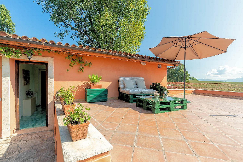 Case Con Terrazzo Roma roma attico con terrazzo in tenuta di lusso - castel di leva
