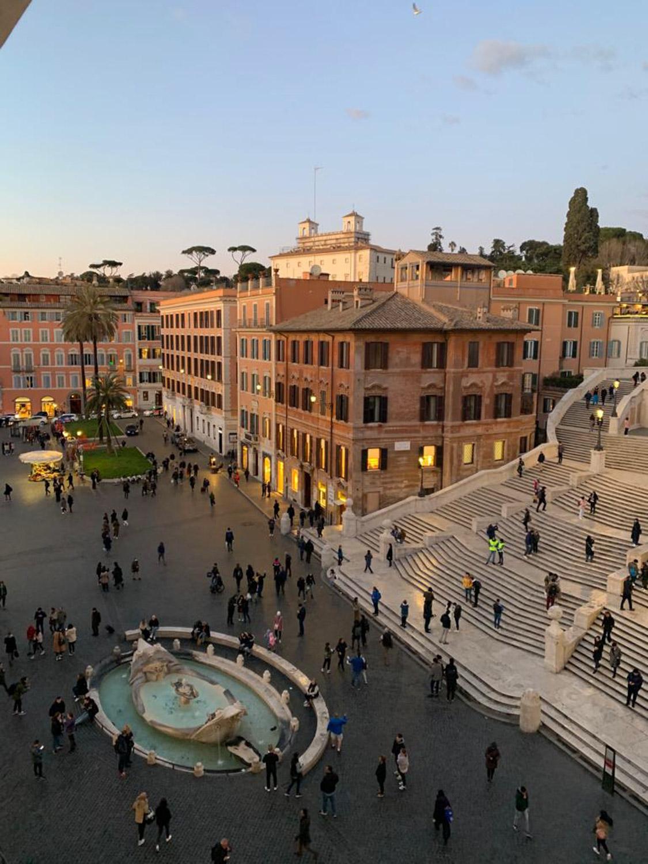 Attico in affitto Piazza di Spagna Roma: 300 mq affacciati sulla scalinata più famosa al mondo