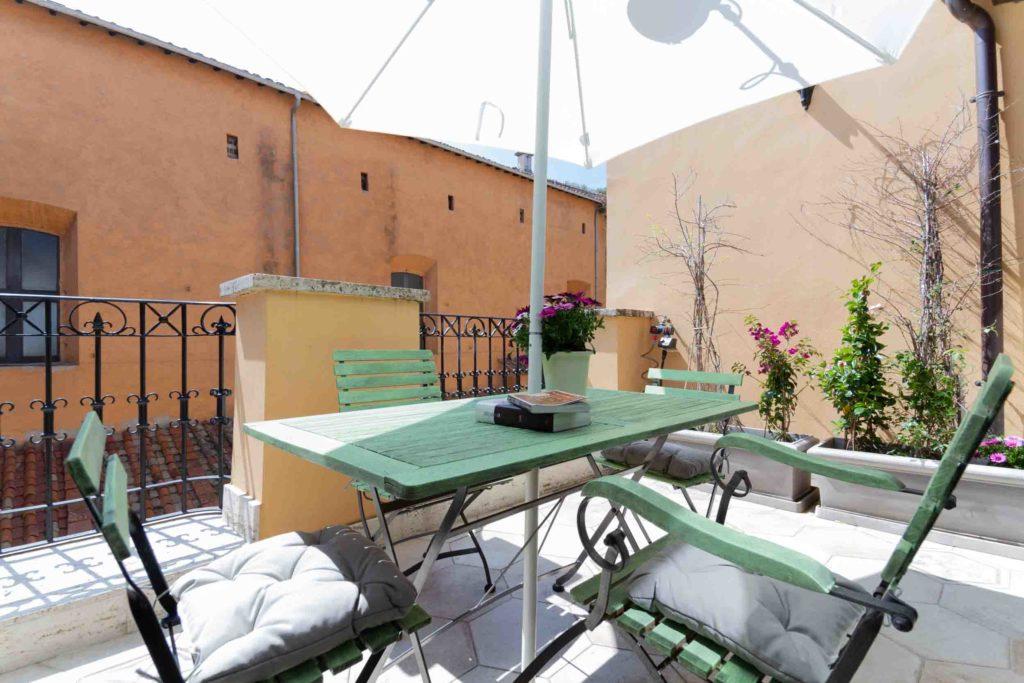 affitto attico roma piazza di spagna