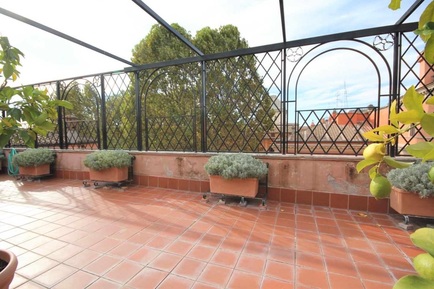 Luxury Penthouse for Rent Rome Piazza Navona: 430 m2  with Panoramic Terrace