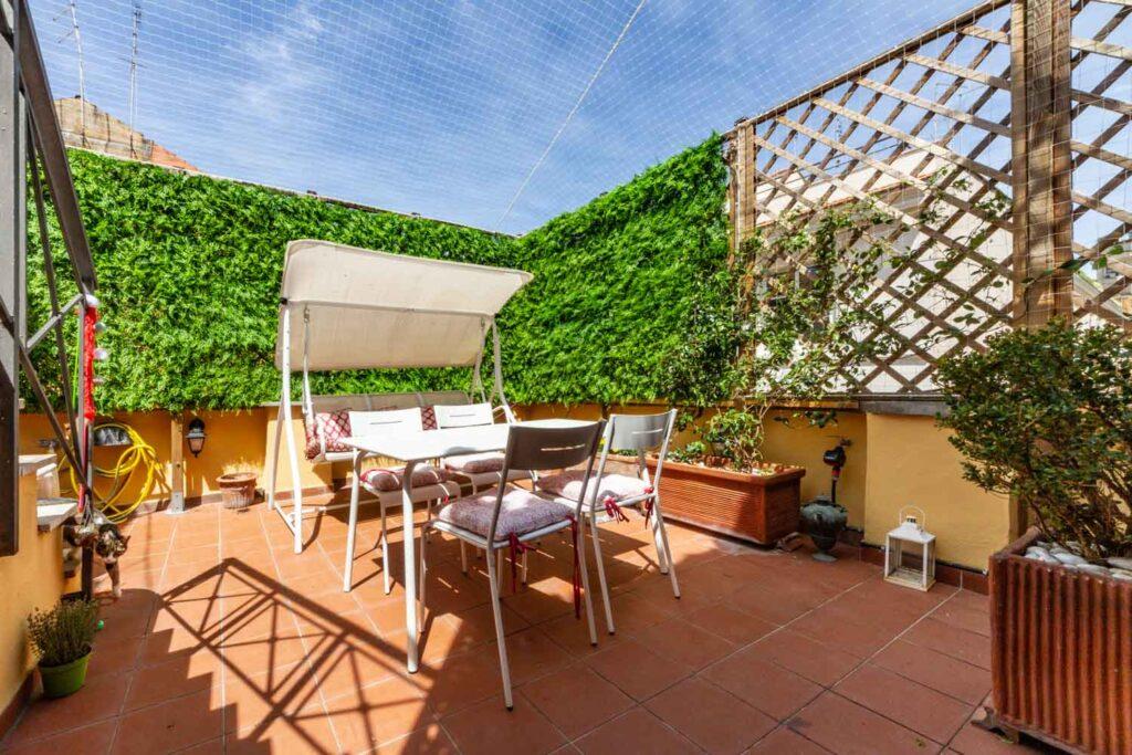 appartamenti con terrazzo in vendita a roma