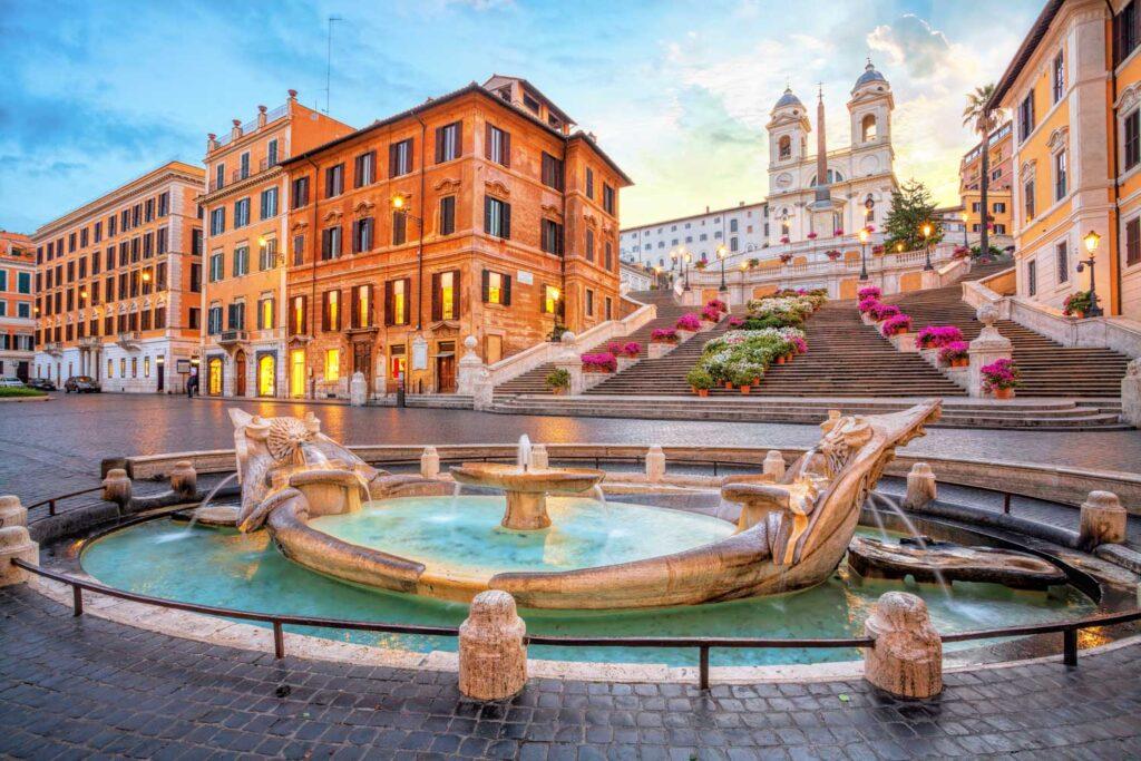 locale commerciale piazza di spagna roma