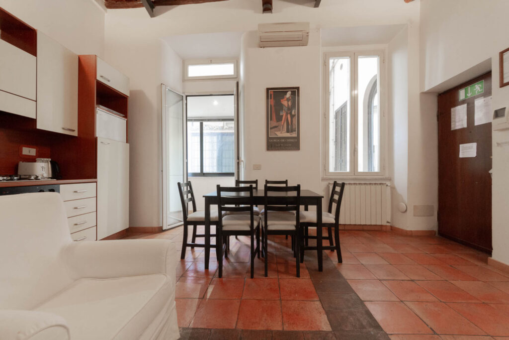 appartamento arredato centro storico roma