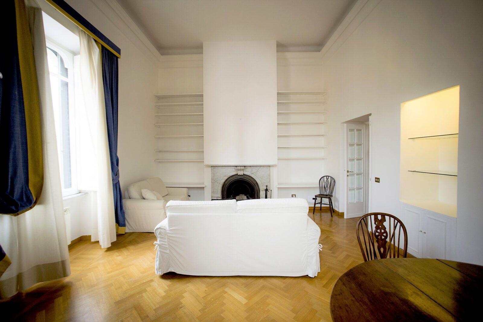 Affitto Appartamento Piazza del Popolo Roma: 90 mq ristrutturati e arredati