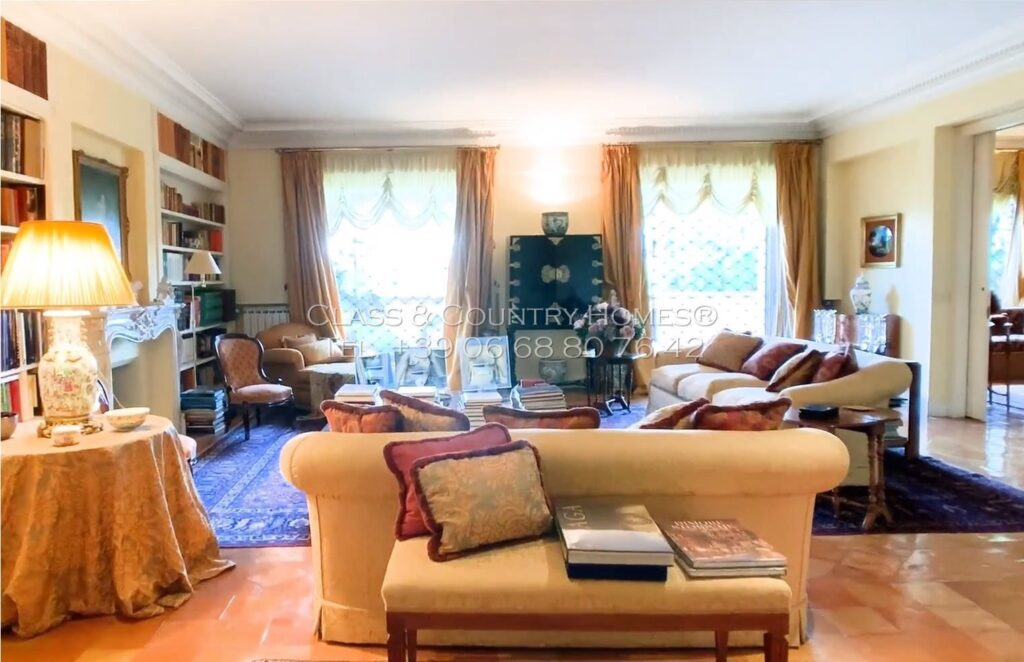 luxury rome apartments with terrace
