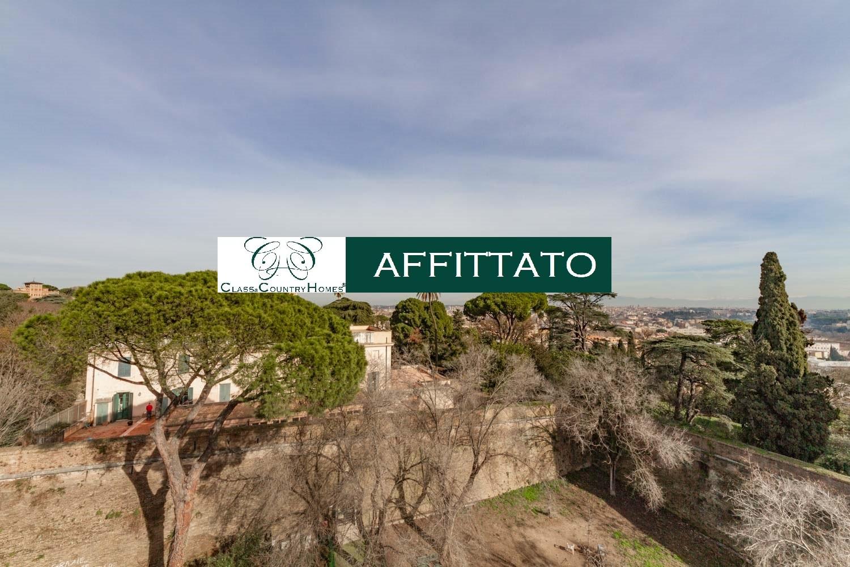 Apartment in Rome with Terrace in Monteverde Vecchio