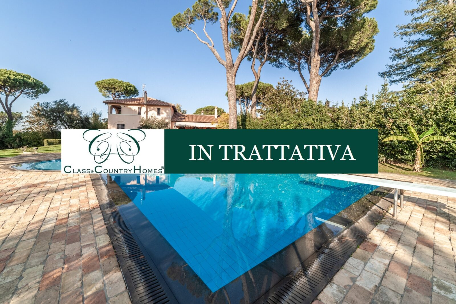 Italian Luxury Villas for Sale: Magnificent Residence in Rome