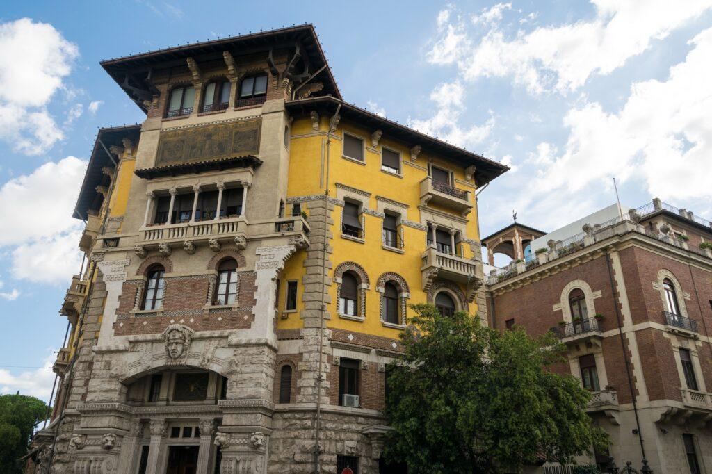 palazzo in vendita roma coppedè